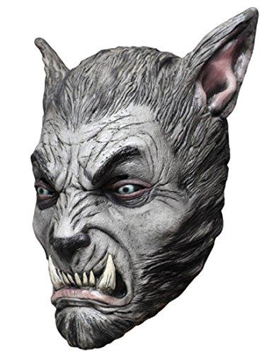 Mask Head Werewolf Beast Silver
