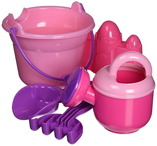 Bucket Set Princess (Small World Toys 5 pieces Princess bucket set)