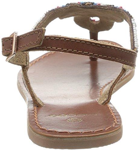 Pieces Carmen - Sandalias fashion para mujer Brown (Rubber)