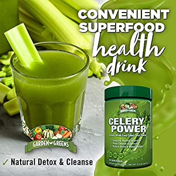 Garden Greens Celery Power Health Drink