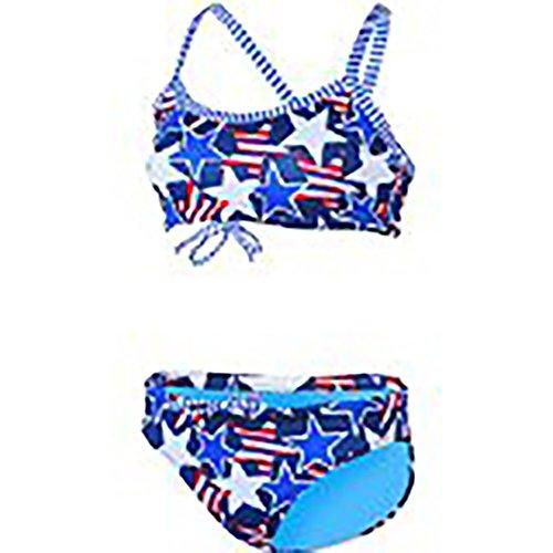 Dolfin Uglies Workout Two Piece Swimsuit Womens XLarge