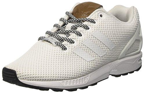 adidas Zx Flux, Zapatillas Unisex Adulto Blanco (Footwear White/footwear White/footwear White)
