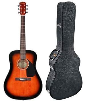 Guitarra Acústica Fender CD-60 con Deluxe Hardshell Case ...
