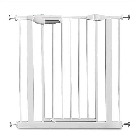 LSRRYD Barrera Extensible Perros Valla Seguridad Infantil Plástico ABS Barreras para Puertas Y Escaleras Puerta De Seguridad para Perros Y Mascotas (Size : 75cm): Amazon.es: Hogar