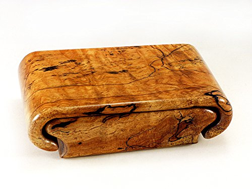 Spalted Flame Maple Box by Wood Box Art