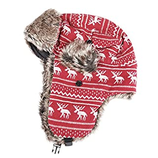 Vktech Womens Lovely Warm Winter Cap Lady Russian Trapper Ear Flaps Ski Hat (B00O9WE524) | Amazon price tracker / tracking, Amazon price history charts, Amazon price watches, Amazon price drop alerts