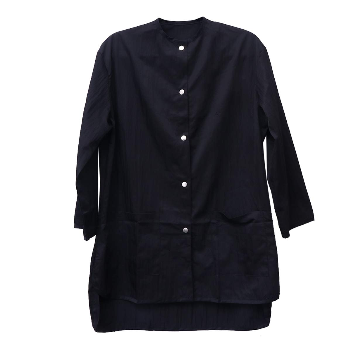 Lurrose Black Long Sleeve Salon Smock Waterproof Hairdressing Cape for Clients Stylist by Lurrose