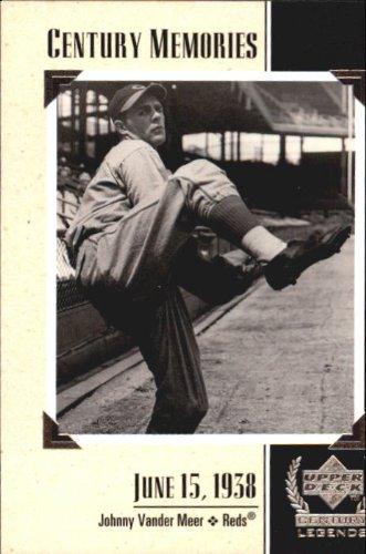 1999 Upper Deck Century Legends #128 Johnny VanderMeer MEM MLB Baseball Trading Card from Upper Deck