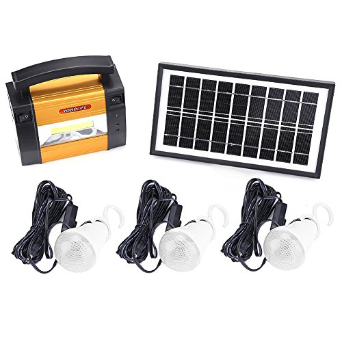 Solar Dc Home Lighting System in US - 8