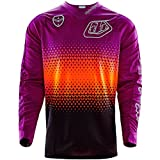Troy Lee Designs SE Starburst Men's Off-Road Motorcycle Jersey - Black/Purple / X-Large