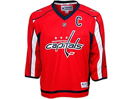 low priced 62113 d2749 Ovechkin Youth Replica Home Jersey (L/XL(14-20))