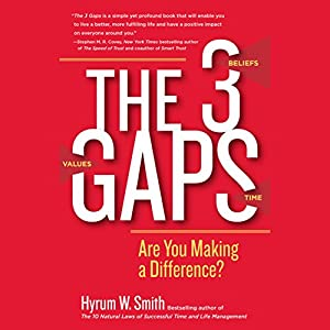 The 3 Gaps: Are You Making a Difference? Audiobook