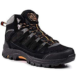 Jack Walker Bottes de Marche imperméables légères et Respirantes Chaussures pour la randonnée et Les Trek JW9255