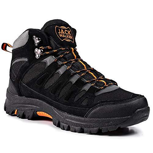 Jack Walker Bottes de Marche imperméables légères et Respirantes Chaussures pour la randonnée et Les Trek JW9255 1