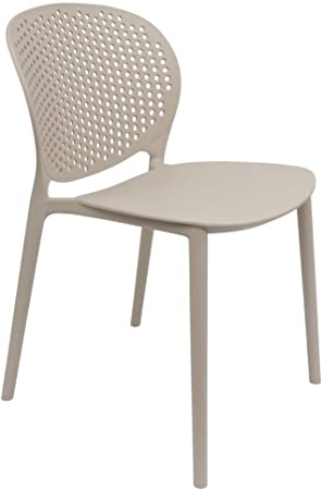 Chaise de Jardin Design Pongo Beige: : Cuisine