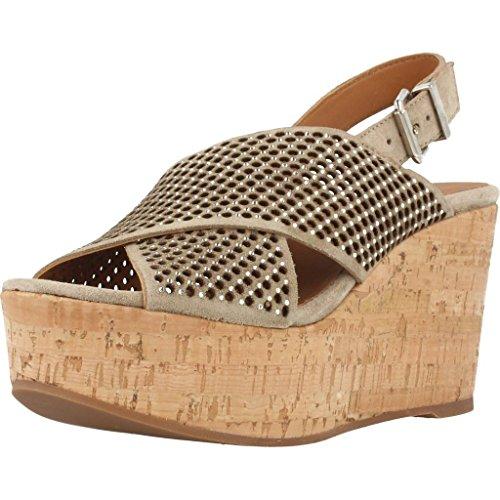 Sandalias y chanclas para mujer, color marr�n , marca ALPE, modelo Sandalias Y Chanclas Para Mujer ALPE 40670G Marr�n marr�n