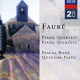 Fauré piano quartets & piano