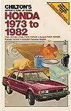 Honda Nineteen Seventy-Three to Nineteen Eighty-Two, Richard J. Rivele, 0801972043