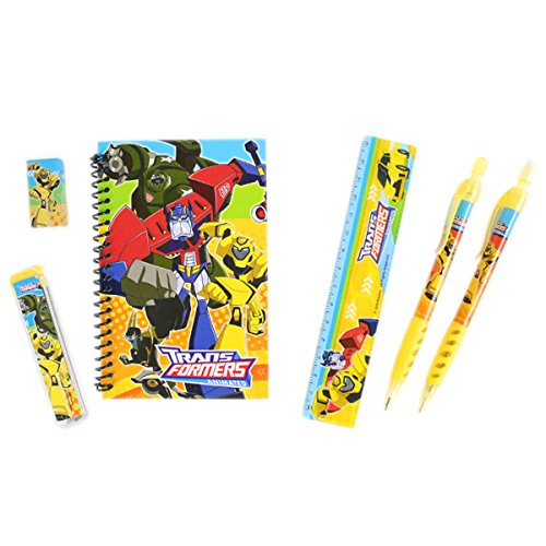Officially Licensed Disney 6 Piece Stationery Set - Transformers ()