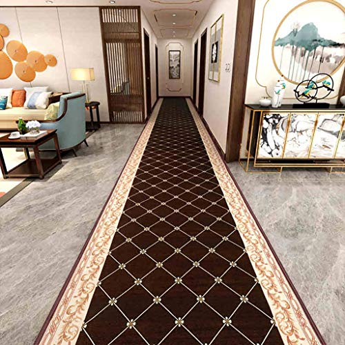 GWXDT Hallway Runner Rugs Corridor Living Room Entrance Bedroom Bathroom Bedside Washable Soft-Touch Non-Woven Bottom Anti-Skid No Smell, Thickness 6mm (Color : A, Size : 140100CM)