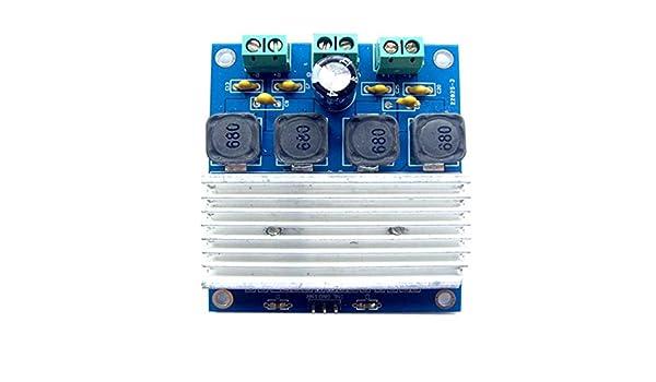 Providethebest 50W x 2 Tablero del Amplificador Digital TDA7492 Amplificador de Potencia Módulo conectar en Paralelo de Alta Potencia: Amazon.es: ...