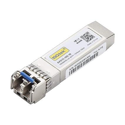 10Gtek Cisco SFP-10G-LR Compatible(2015 Packaging), 10GBASE-LR SFP+  Transceiver, 1310nm, 10km,Single-Mode