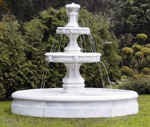 Defi S207018 - Fuente decorativa (piedra, 210 cm): Amazon.es: Jardín