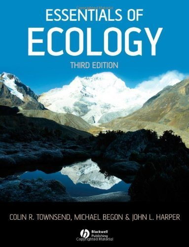Essentials of Ecology by Colin R. Townsend (2008-02-01)