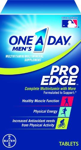 One-A-Day Men's Pro Edge Multivitamin, 50-tablet Bottle