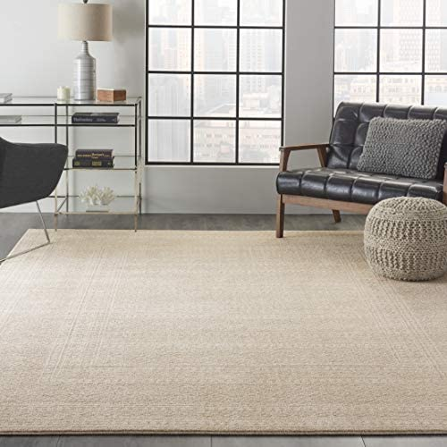 Nourison Royal Moroccan Distressed Bohemian Beige 8' x 10' Area Rug 8'x10'