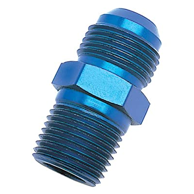 Russell 670150 Blue Anodized Aluminum -6AN Flare to 1/2