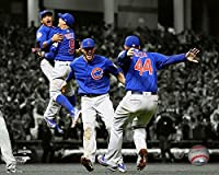 Chicago Cubs -Spotlight Celebration!, 2016 World Series Champions! 8x10 Photo Picture