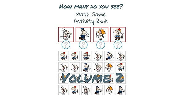 How Many Do You See Volume 2 Fun Math Games For Kids Brain Game Book For Kindergarten Kindle Edition By Hammond Sam Children Kindle Ebooks Amazon Com