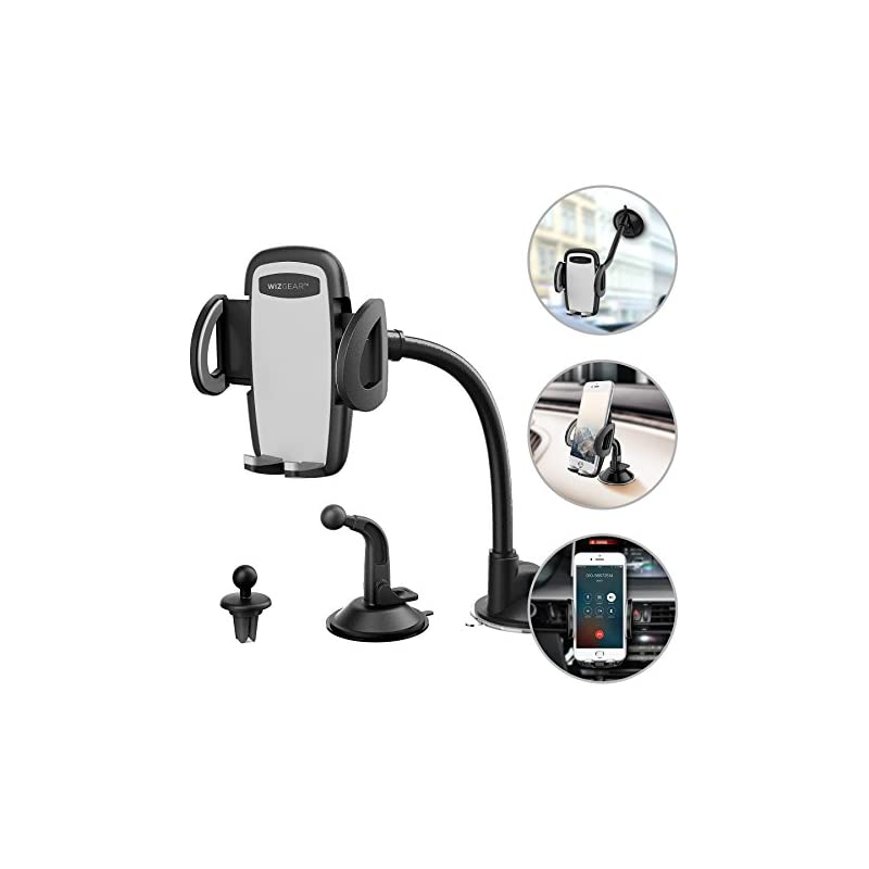 Phone Holder for Car, WizGear 3-in-1 Uni