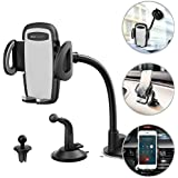 Wireless Car Charger Mount, USAMS Auto Clamping...