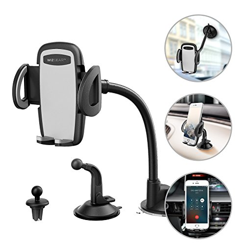 Phone Holder for Car, WizGear 3-in-1 Universal Car Phone Mou