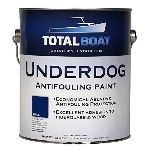TotalBoat Underdog Bottom Paint (Blue) Gallon