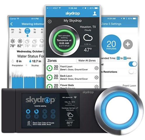 SkyDrop 8 Zone Wifi-Enabled Smart Sprinkler Controller - Expandable, Frustration Free Packaging by Skydrop (Image #4)