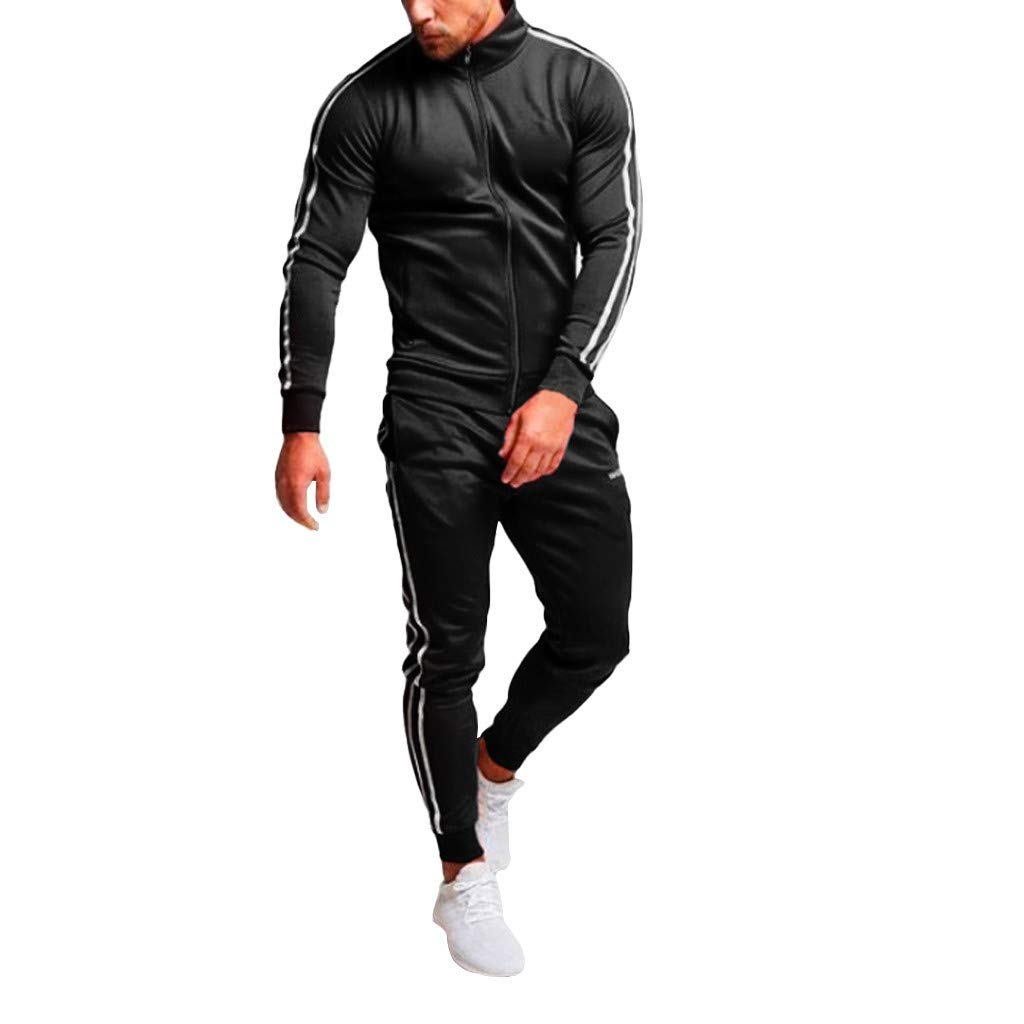 Tracksuit Men red/4xl Tracksuit Men/Plus Size/Tracksuit Men/Fitted Sweatsuits Men/Men Winter Jacket/Plaid Pants for Men/Mens Tracksuit shorts/2pcs Tracksuit Women Black by elegantFIY-Tracksuit