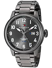 Tommy Hilfiger Men's 1791313 JASPER Analog Display Quartz Grey Watch
