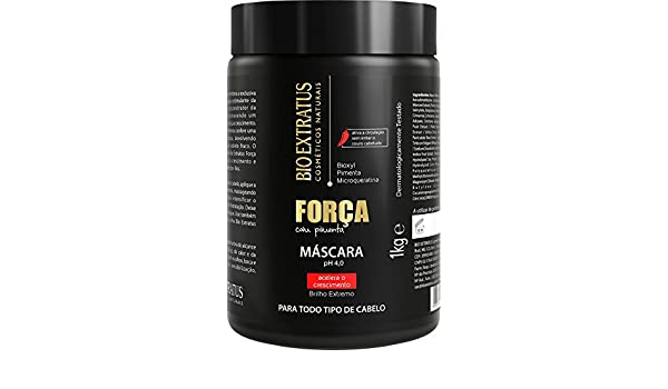Amazon.com: Linha Forca com Pimenta (Forca e Crescimento) Bio Extratus - Mascara 1000 Gr - (Bio Extratus Pepper Strength (Strength And Growth) Collection ...