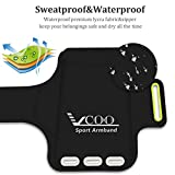 iPhone Armband, VCOO Sport Running Armband for