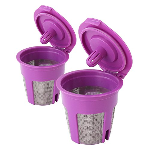 Nicelucky Reusable Plated Coffee Filters
