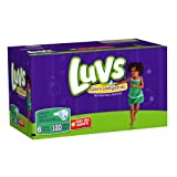 Health & Personal Care : Luvs With Ultra Leakguards Size 6 Diapers 120 Count by Luvs