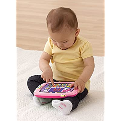 VTech Light-Up Baby Touch Tablet, Pink: Toys & Games