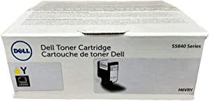 Dell Toner Cartridge - Yellow (H6VRY)
