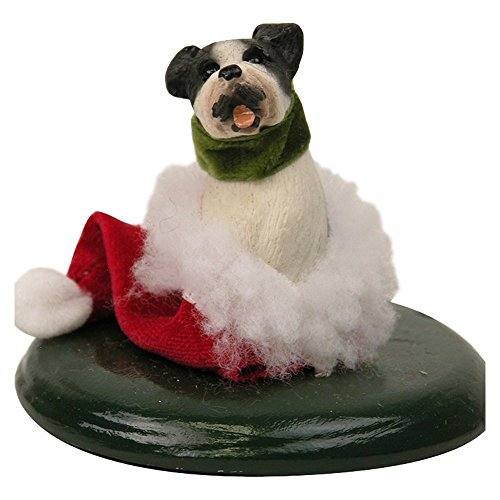Byers' Choice Boston Terrier Dog #614E