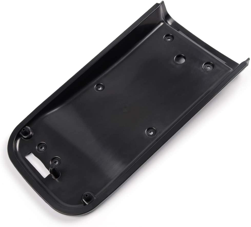 Replaces 25998847 Black Armrest Cover with Latch /& Screws New Center Console Lid Kit for Chevrolet Trailblazer GMC Envoy 02-09 Buick Rainer 04-07 Oldsmobile Bravada 02-04
