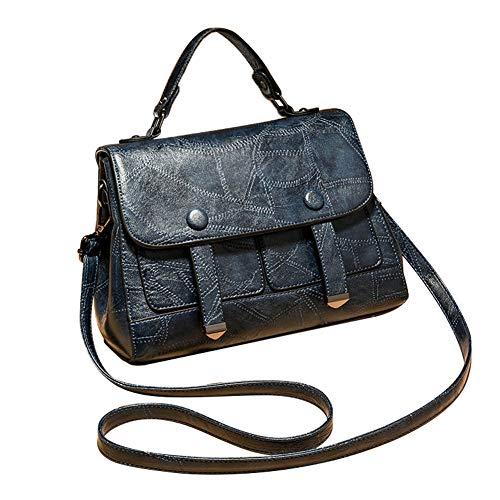 S.Charma 2019 New PU Handbag Mother Bag Linger Single-room Slant Lock Ins Popular Pure Color Setting Women's Bag