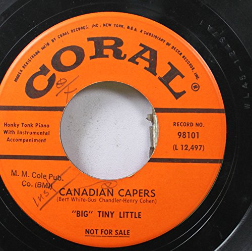 Big Tiny Little 45 RPM Canadian Capers / Mexicali (Little Caper)
